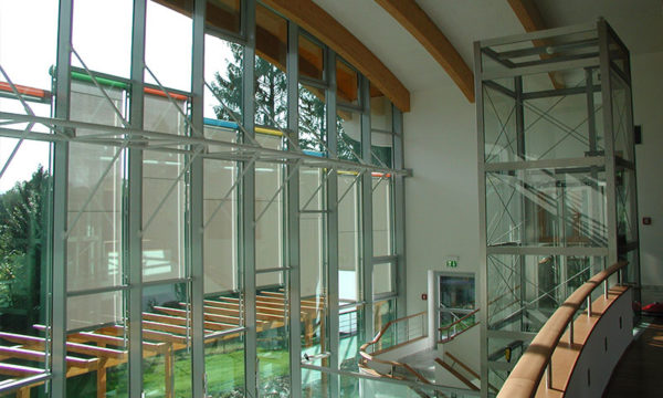 Portale Glasfassaden